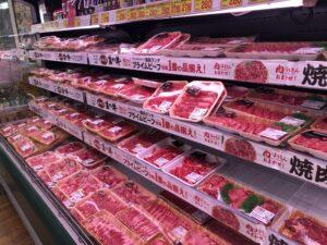 ビッグヨーサンのお肉売り場
