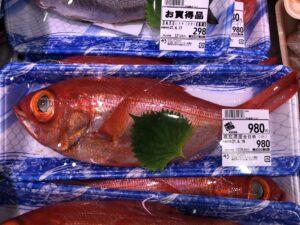 ビッグヨーサンの魚