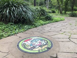 芹が谷公園のポケモンマンホール