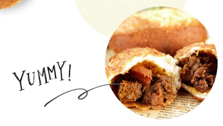 パンパティのカレーパン
