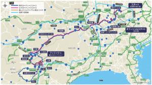 東京オリンピックロードレースマップ