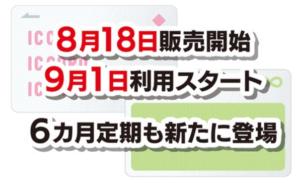神奈中バスのIC定期券