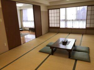 町田ファミリーホールの家族控室