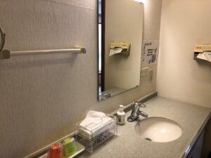 町田ファミリーホールの洗面台