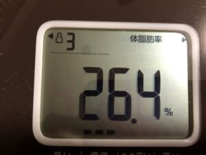 50代女性の体脂肪率